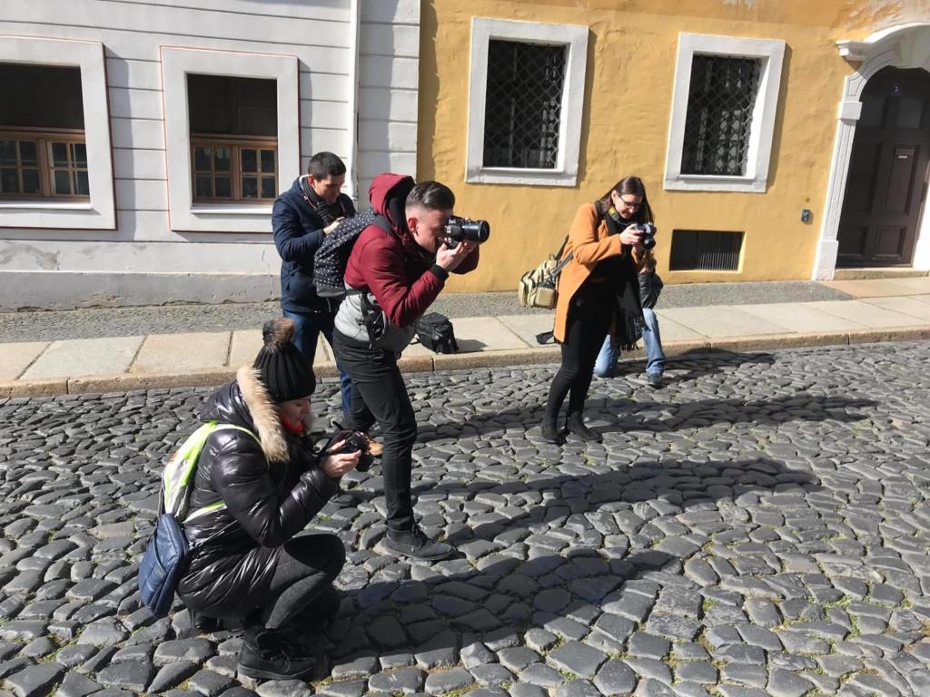 Praca na warsztatach, foto: Bernard Łętowski.